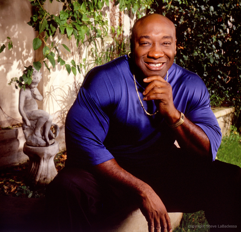 Michael Clarke Duncan photo by Steve LaBadessa