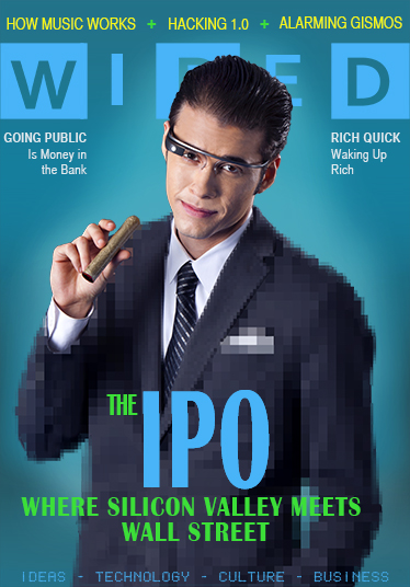 Wall Street meets Silicon Valley, the IPO